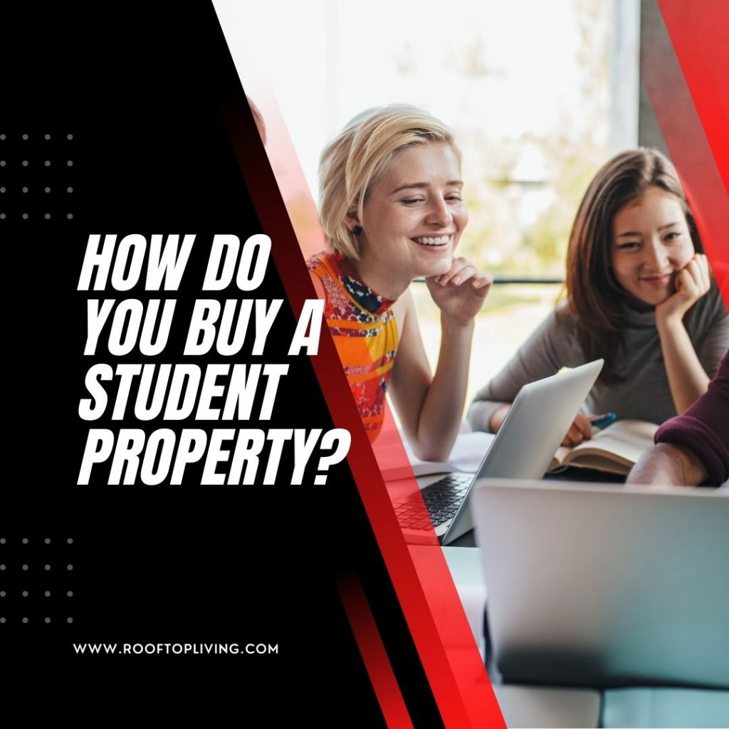 How do you buy a student property?